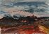 Sale 3770 - Lot 84 - LEN ANNOIS (1906 - 1966) - Flinders Ranges, Central Australia, 1954
