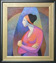 Sale 8068A - Lot 45 - Dan Mazzotti (1925 -) - Determination 59 x 49cm
