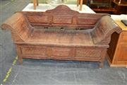 Sale 8115 - Lot 1229 - Rustic Timber Bench