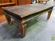 Sale 8500 - Lot 1204 - Rustic Timber Coffee Table
