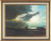 Sale 8845 - Lot 2004 - David Perks - Storm Clouds, Southern Spain, 1972 29 x 39cm