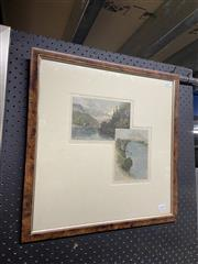 Sale 9036 - Lot 2060 - A Fullwood and N Baker hand-coloured engravings of The Nepean River 48