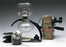 Sale 9168 - Lot 55 - A collection of vintage coffee making equipment