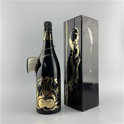 Sale 9204W - Lot 601 - 1981 Taittinger Collection - Arman Brut, Champagne - in box