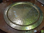 Sale 8447 - Lot 1058 - Brass Chinese Tray
