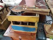 Sale 8554 - Lot 1094 - Rustic Crate with Bellows