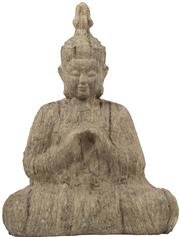 Sale 9010F - Lot 54 - A COMPOSITE BUDDHA IN SEATED POSE H:43W:33D:16.5cm