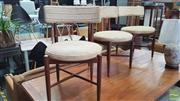 Sale 8371 - Lot 1037 - G-Plan teak table and 3 chairs