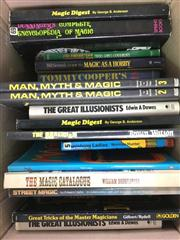 Sale 8539M - Lot 283 - Box of Books on Magic, incl Magic with Everyday Objectsby George Schneider. First Edition, 1976 in hardcover and jacket