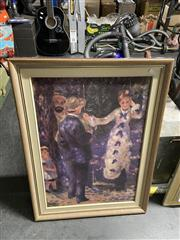 Sale 8995 - Lot 2088 - After Auguste Renoir The Swing Framed Textured Print