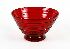 Sale 3803 - Lot 487 - A LARGE RUBY WHITEFRIARS BOWL