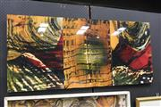 Sale 8332 - Lot 2007 - Triptych Panel Of an Abstract Artwork