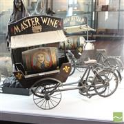 Sale 8365 - Lot 15 - Vintage Decorative Master Wine Advert Tricycle
