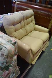 Sale 8566 - Lot 1792 - Fabric 2 Seater Lounge