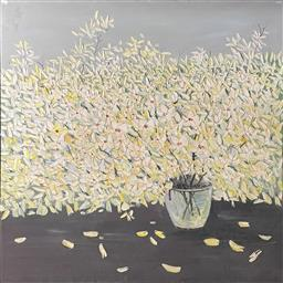 Sale 9123 - Lot 2027 - Contemporary Still Life  acrylic on canvas, signed (121 x 120cm)