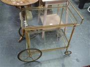 Sale 7969A - Lot 1089 - Two Tiered Serving Trolley