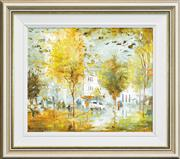 Sale 8266 - Lot 501 - Willmotte Williams (1916 - 1992) - Kings X 38 x 45.5cm