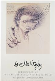 Sale 8753 - Lot 2002 - Brett Whiteley - Retrospective 97 x 62cm