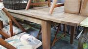 Sale 8380 - Lot 1047 - Recycled Elm Dining Table (L 220cm)