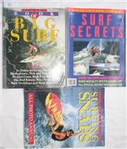 Sale 8431B - Lot 41 - Tracks Book of Big Surf (magazine), Editor Kirk Willcox 1985 and Surf Secrets No. 1 (magazine), Editor Ben Horvath 1994 and Tracks S...