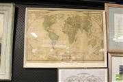 Sale 8468 - Lot 2069 - Nat Geographic World Map