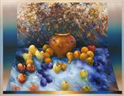 Sale 8492 - Lot 532 - David Voigt (1944 - ) - Still Life For the Rush of Spring II, 1995 100 x 130cm