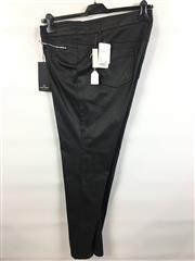 Sale 8514H - Lot 86 - Gerry Weber Dark Charcoal Slim-Leg Pants - UK size 22