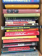 Sale 8539M - Lot 285 - Box of Books on Magic, incl. David Devants The Best Tricks and How to do Them, 1939