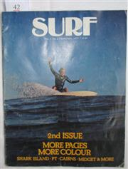 Sale 8431B - Lot 42 - Surf Vol 1 No. 2. February 1977. Published by Surf Publications. Editor Steve Core