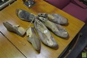 Sale 8341 - Lot 1055 - Collection of Timber Shoe Moulds