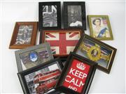 Sale 8450S - Lot 781 - Assortment of Small Lonsdale London Shop Displays - framed