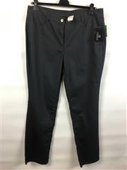 Sale 8514H - Lot 88 - Lebek Charcoal Stretch Cotton Pants - UK size 20