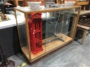 Sale 8697 - Lot 1628 - Glass Display Case