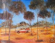 Sale 8958 - Lot 2028 - Kevin Charles (Pro) Hart (1928 - 2006) - The Rally 40 x 50 cm (sheet size)