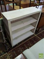Sale 8532 - Lot 1066 - Shabby Chic Open Bookshelf