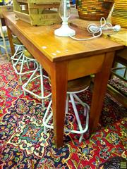 Sale 8648 - Lot 1027 - Timber Hall Table