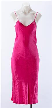 Sale 8910F - Lot 77 - A pink silk slip from Silk Laundry, as new with tags, size XS
