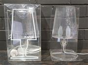 Sale 8967 - Lot 1050 - Pair of Boxed Kartell Table Lamps (H:30cm)