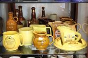 Sale 8014 - Lot 79 - Assortment of Whisky Jugs, incl Bells Whisky Decanters