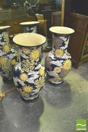 Sale 8371 - Lot 1011 - Pair of Large Chinese Vases