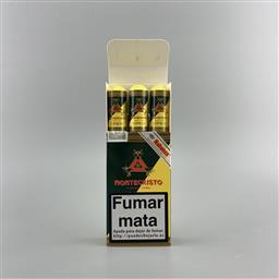 Sale 9217A - Lot 895 - Montecristo Open Junior Cuban Cigars - pack of 3 tubos, removed from box stamped July 2010