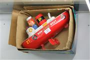 Sale 8189 - Lot 57 - Vintage Tin Japanese Non-Stop Boat