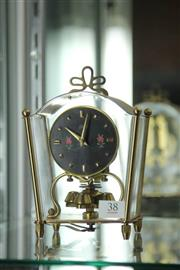 Sale 8261 - Lot 38 - Schatz Desk Clock