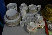 Sale 8548 - Lot 2411 - Thomas Dinner Ceramics with Queen Anne Cups & Saucers