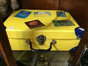 Sale 8659 - Lot 2278 - Sydney Olympic Suitcase with Memorabilia incl Flags & Booklets