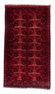 Sale 8800C - Lot 158 - An Afghan Baluchi Rug In Hand Knotted Wool, 110 x 195cm