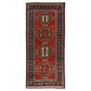 Sale 8913H - Lot 15 - Antique Caucasian Karabagh Rug, 280x125cm, Handspun Wool