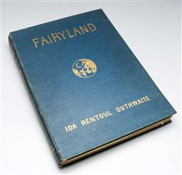 Sale 9138 - Lot 161 - Fairyland, of Ida Rentoul Outhwaite, Verse by Annie R. Rentoul Stories by Grenbry Outhwaite & Annie R. Rentoul, Signed Limited Edi...