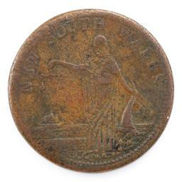 Sale 9130E - Lot 88 - A NSW one penny token minted by Whitty & Brown, Sydney, undated, c.1860, Diameter 3.3cm
