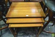 Sale 8364 - Lot 1042 - G-Plan Teak Nest of Tables